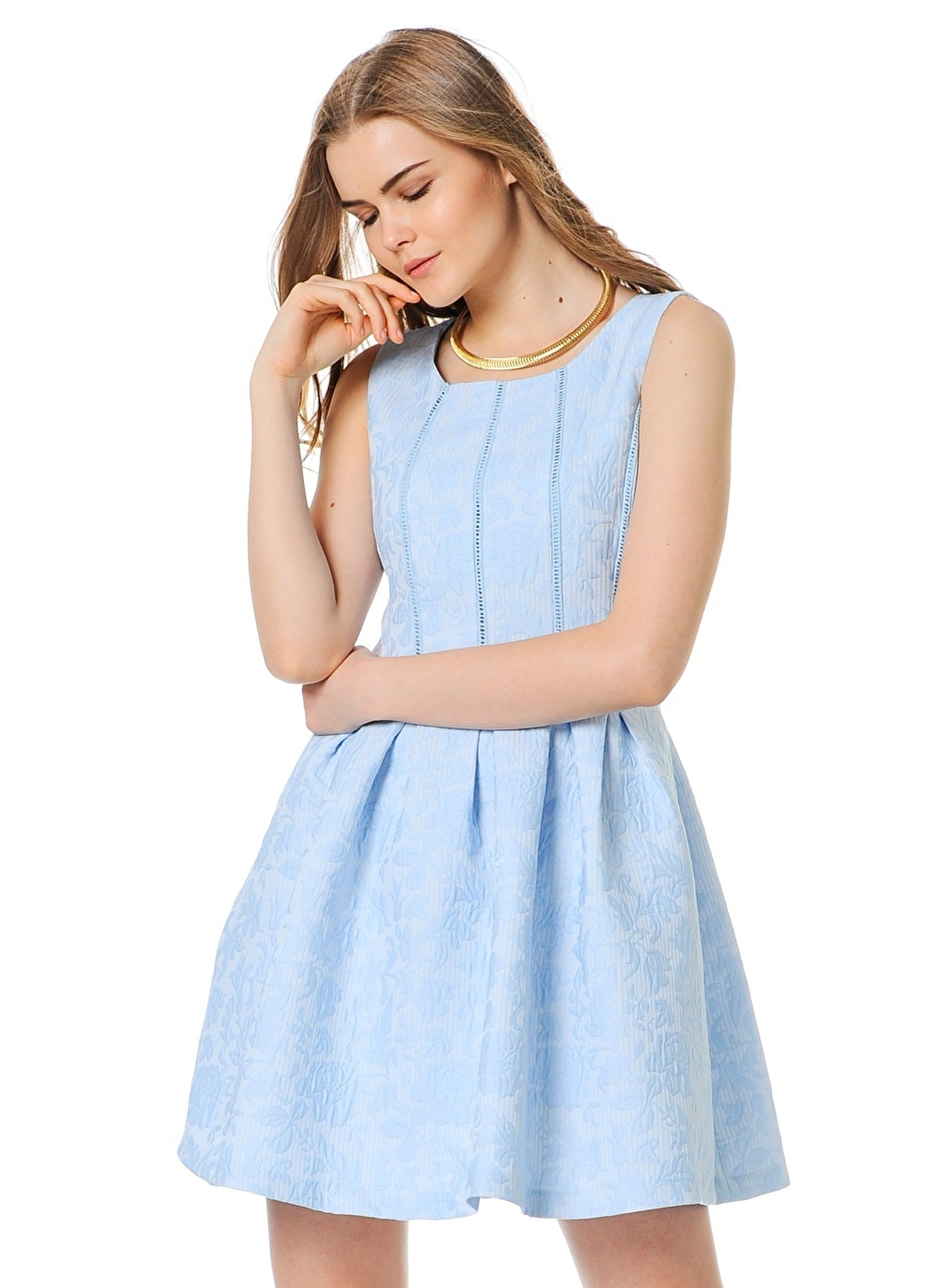 35ecd47481ecb Koton Kadın Elbise Blue Desıgn | Morhipo | 16859871